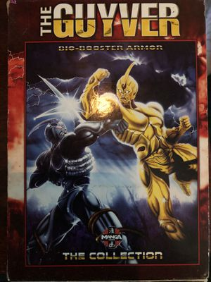The guyver disc- booster armor dvd 2004 MANGA for Sale in Stockton, CA
