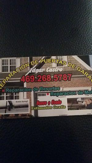 garage door for Sale in Farmers Branch, TX