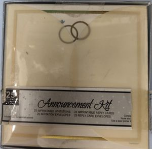 BEAUTIFUL WEDDING RING INVITATIONS for Sale in Ashland, MA