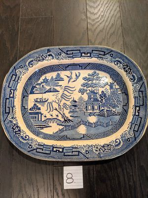 Antique Blue Willow China Platters for Sale in Alpharetta, GA
