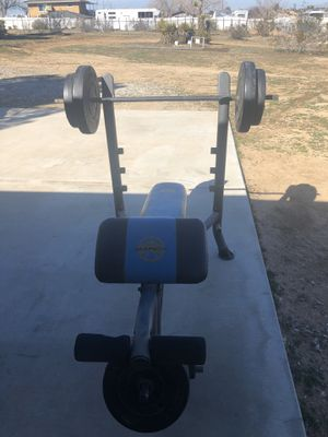 Weight bench for Sale in Apple Valley, CA
