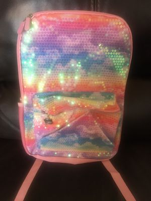 Limited too girls NEW backpack sequin rainbow for Sale in Las Vegas, NV