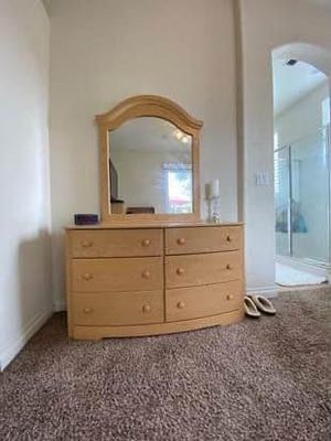 Nice solid wood dresser - gorgeous! for Sale in Rancho Cordova, CA
