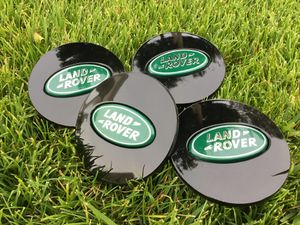 (4) Land Rover Range Rover Black Center Caps LR3 LR4 Wheel Rim Cap for Sale in Scottsdale, AZ
