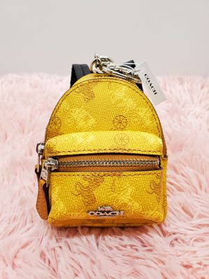 COACH BACKPACK KEYCHAIN for Sale in Sacramento, CA