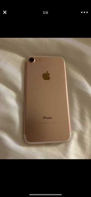 Apple iPhone 7 128gb rose gold unlocked clean imei for Sale in Rancho Cucamonga, CA