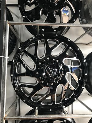 """20"""" dually wheels w tires brand new for Sale in Houston, TX"""