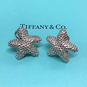 RARE, Vintage Tiffany & Co. Sterling Silver Starfish earrings for Sale in New York, NY