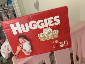 Newborn diapers for Sale in Riverside, CA
