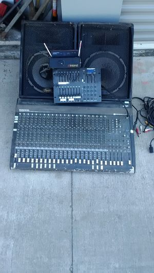 Sound & Stage Equipment for Sale in Fresno, CA