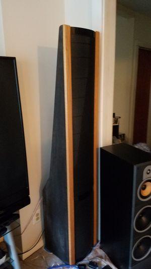 Vintage Martin Logan 6 feet tall transparent electrostatic speakers for Sale in FSTRVL TRVOSE, PA