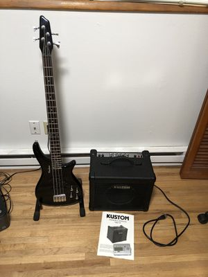 Bass, bass amp, bass tuner for Sale in Vancouver, WA