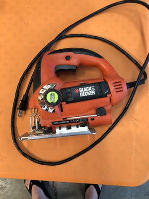 Black & Decker Smart Select 5.0A Orbital Jigsaw for Sale in Pasco, WA