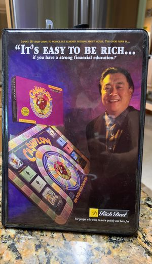 Board Game and cassettes - Rich Dad for Sale in Lake Worth, FL