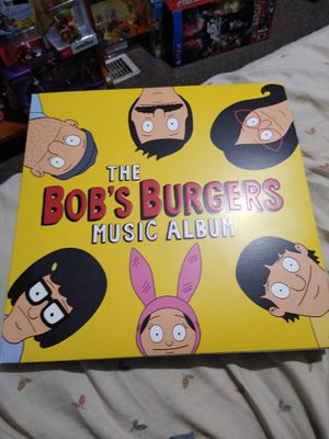 Bob's burgers music album box little damaged for Sale in Sherwood, OR