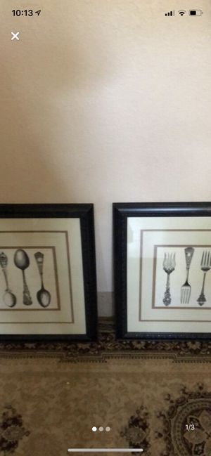 2 home decor picture frame for Sale in Poway, CA