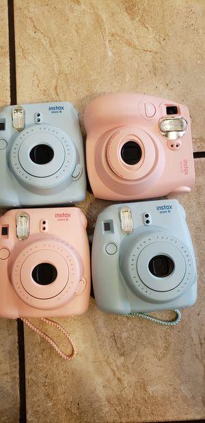 4 Fujica instax mini 8/7s cameras for Sale in Knob Noster, MO