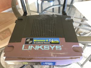 Linksys Wireless-G Broadband Router 2.4 GHz - 54 Mbps for Sale in Denver, CO