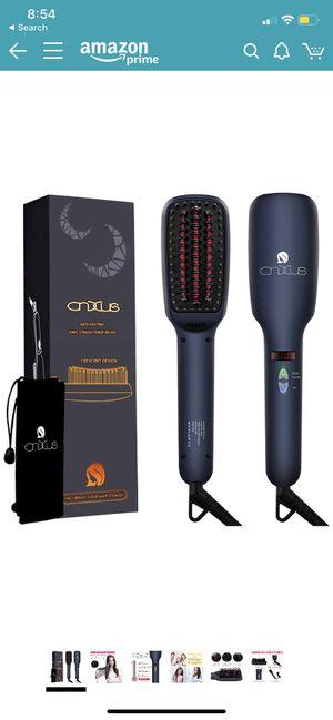 Ionic Hair Straightener Brush, CNXUS MCH Ceramic Heating + LED Display + Adjustable Temperatures for Sale in South Jordan, UT
