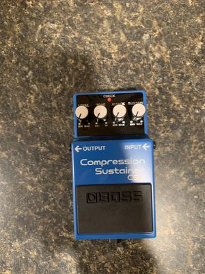 Boss Compression Sustainer Pedal for Sale in Verona, KY