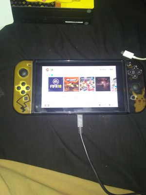 Nintendo Switch And 5 Games for Sale in undefined
