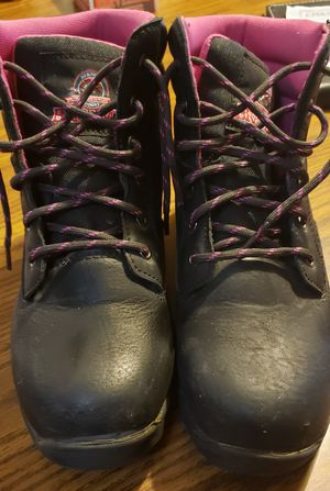 Women's steel toe boots for Sale in Parma, OH