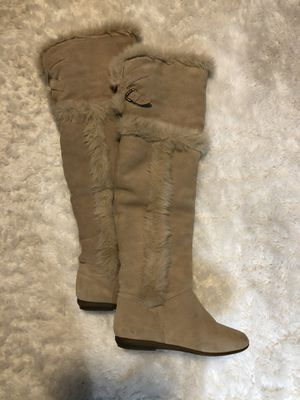 Aldo Faux Fur Women's Boots Size 5 for Sale in National City, CA