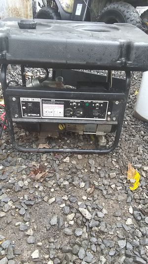 Steele products generator for Sale in Elkins, WV