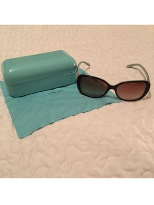 Tiffany & Co Sunglasses Brown / Blue With Crystal With Case for Sale in Dallas, TX