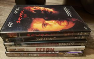 5 Thriller/Action/Suspense movies! for Sale in Lancaster, KY