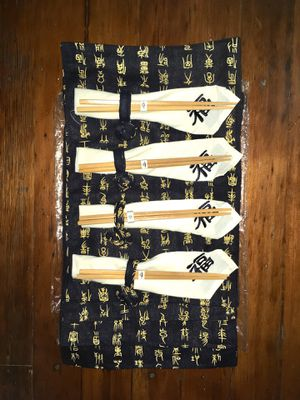 New Set of Asian Chopsticks & Dining Placemats Napkins for Sale in Los Angeles, CA