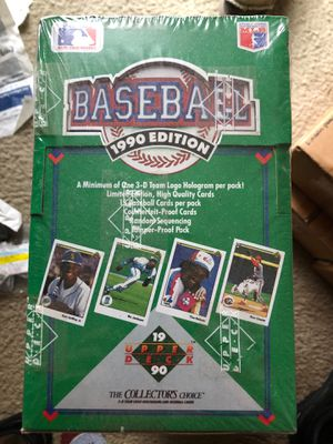 Sealed 1990 Upper Deck baseball cards. for Sale in Hamilton, OH