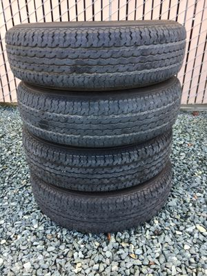 Maxxis M8008 Trailer tires. for Sale in Linden, CA