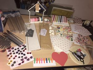 Crafting/stationary/stickers/scrapbooking/craft lot for Sale in Bremerton, WA