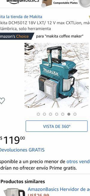 Makita coffee maker for Sale in Golden, CO