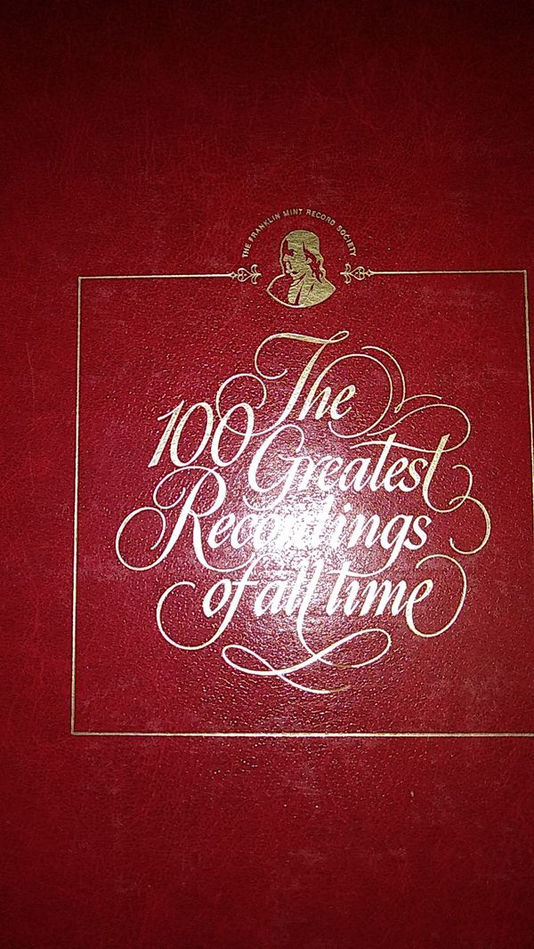 Red vinyl records