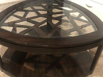 Coffee Table (w/glass Top) for Sale in Chicago,  IL