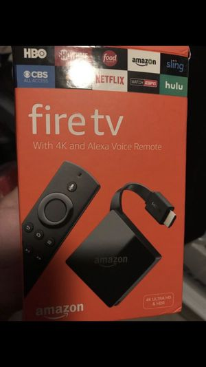 Fire tv with Alexa remote for Sale in Plantation, FL