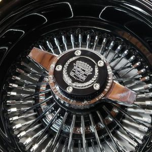 Black 13x7 Wire Wheels USA Lowrider for Sale in Chino, CA