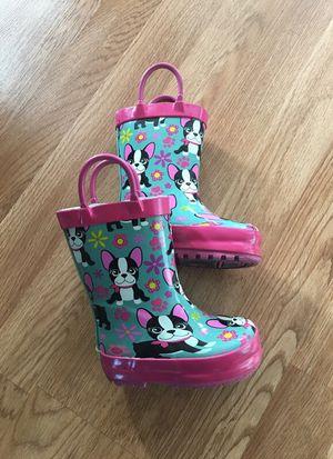 Size 5 rain boots for Sale in East Wenatchee, WA