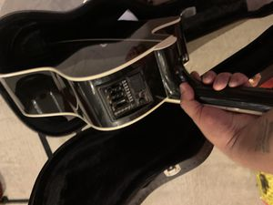 Electric/acoustic Takamine guitar with auto tuner for Sale in Herndon, VA