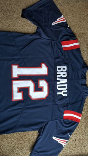 Tom Brady New England patriots Jersey NFL for Sale in Vancouver, WA