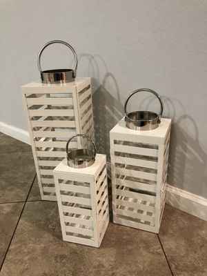 Threshold Lantern Candle Holder for Sale in Dinuba, CA