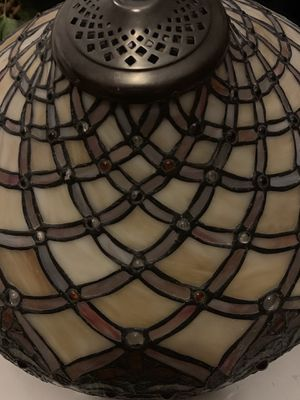 Stained Glass Lamp Shade/Chandelier for Sale in Centennial, CO
