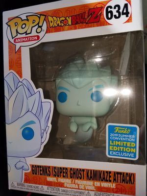 Funko pop Gotenks Sdcc boxlunch exclusive dragon Ball z dbz for Sale in Ontario, CA