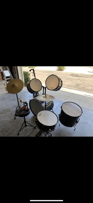 Drum set like new for Sale in Corona, CA
