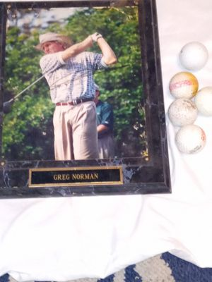 Greg Norman Autographed Photo for Sale in Terre Haute, IN