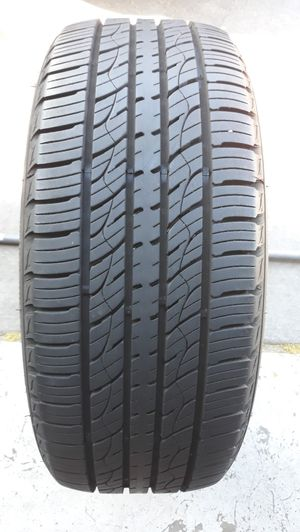 1 TIRE 235/55R18 KUMHO CRUGEN , TIRE WITH 95 % TREAD REMAINING. TIRE FROM 2019 . for Sale in Henderson, NV