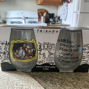 F.R.I.E.N.D.S Stemless Wine Glasses for Sale in San Diego, CA