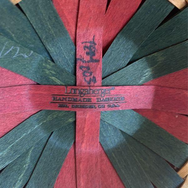 2003 Melody Tree Trimming Longaberger Basket